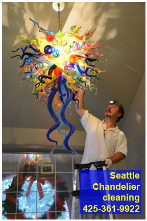 seattle chandelier cleaning