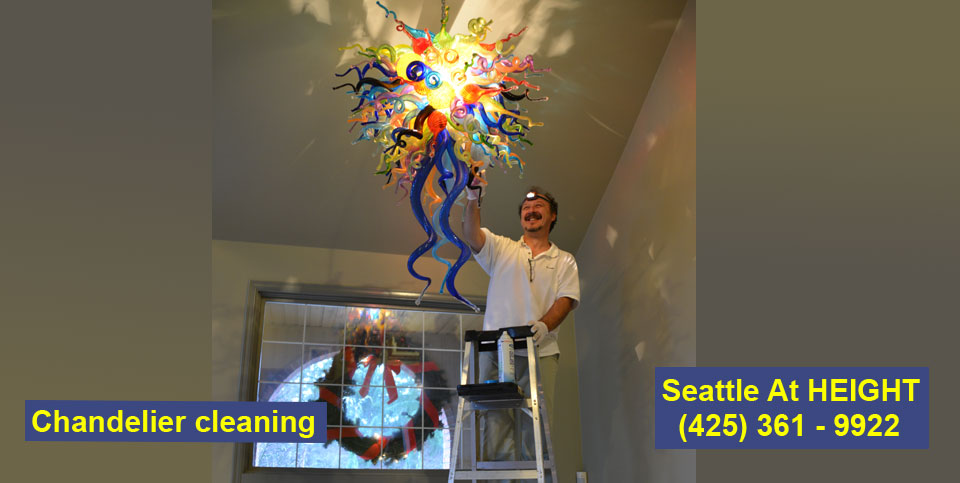 Chandelier cleaning Seattle WA