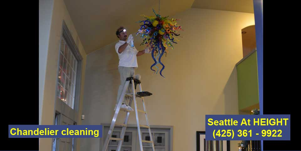 Chandelier cleaning Oregon